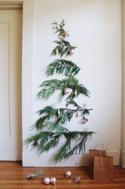 Diy Wall Christmas Tree Ideas24
