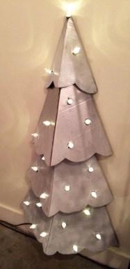 Diy Wall Christmas Tree Ideas25