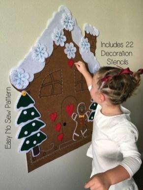 Diy Wall Christmas Tree Ideas26