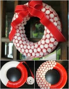 Inspiring Christmas Wreaths Ideas For All Types Of Décor46