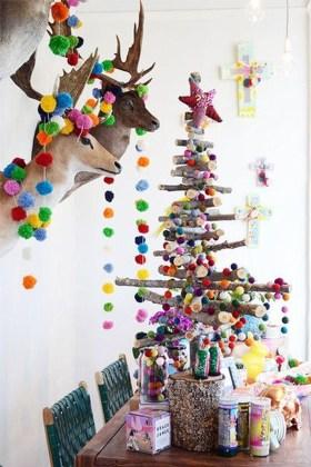 Modern Christmas Tree Alternatives Ideas26