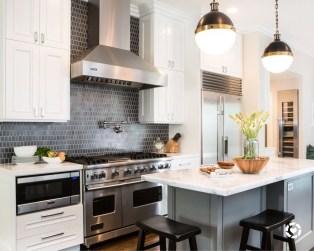 Modern Dark Grey Kitchen Design Ideas02