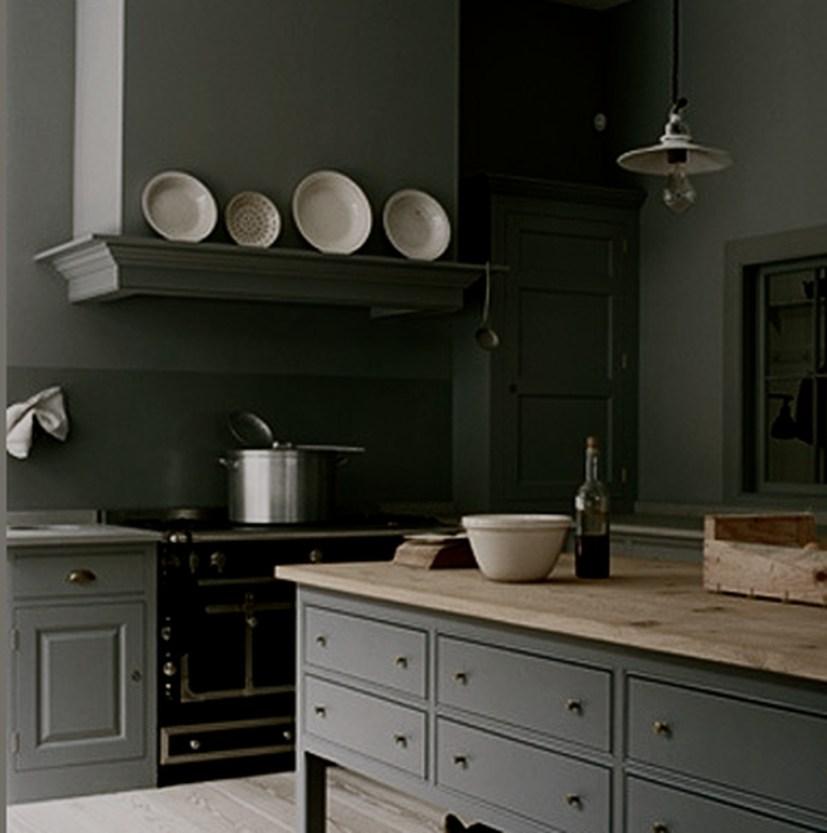 Modern Dark Grey Kitchen Design Ideas22