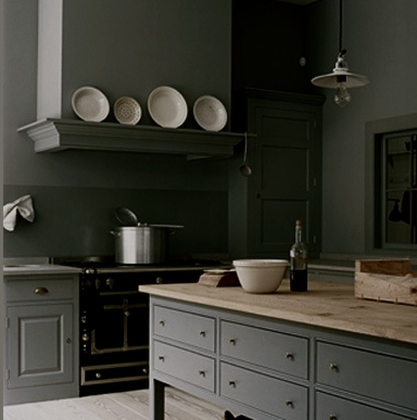 Modern Dark Grey Kitchen Design Ideas22
