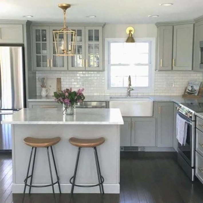 Modern Dark Grey Kitchen Design Ideas33