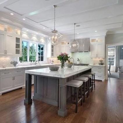 Modern Dark Grey Kitchen Design Ideas34