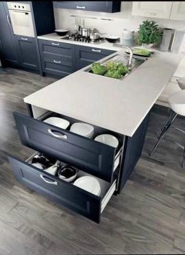 Modern Dark Grey Kitchen Design Ideas41