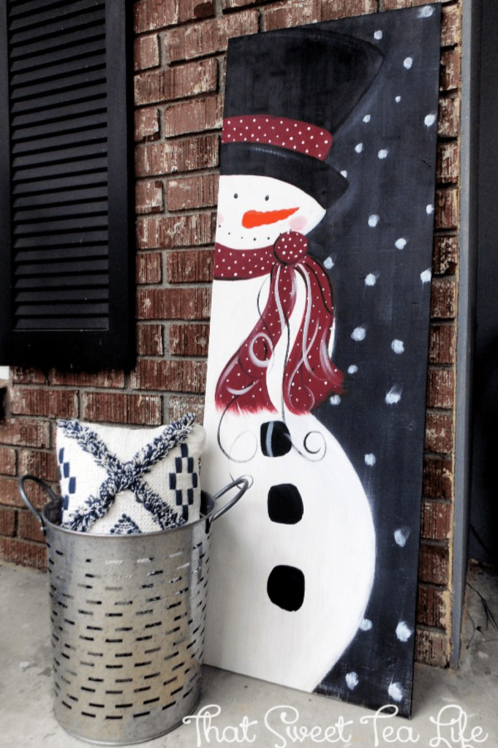 Outdoor Decoration For Christmas Ideas38