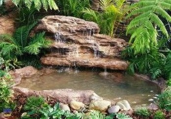Popular Pond Garden Ideas For Beautiful Backyard05