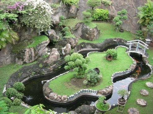 Popular Pond Garden Ideas For Beautiful Backyard20