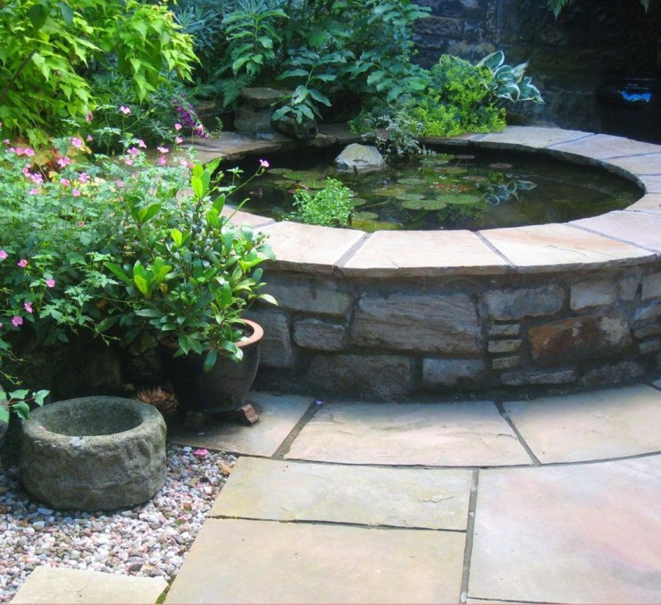 Popular Pond Garden Ideas For Beautiful Backyard23