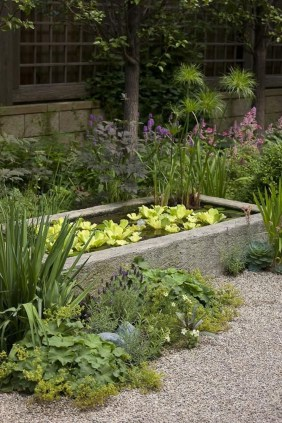 Popular Pond Garden Ideas For Beautiful Backyard44