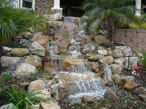 Popular Pond Garden Ideas For Beautiful Backyard46