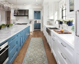 Relaxing Blue Kitchen Design Ideas For Fresh Kitchen Inspiration07