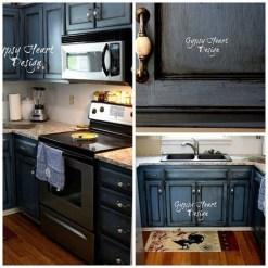 Relaxing Blue Kitchen Design Ideas For Fresh Kitchen Inspiration10