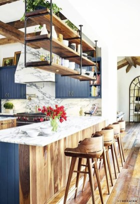 Relaxing Blue Kitchen Design Ideas For Fresh Kitchen Inspiration13