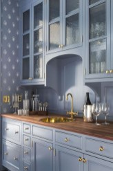Relaxing Blue Kitchen Design Ideas For Fresh Kitchen Inspiration16