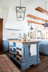 Relaxing Blue Kitchen Design Ideas For Fresh Kitchen Inspiration27
