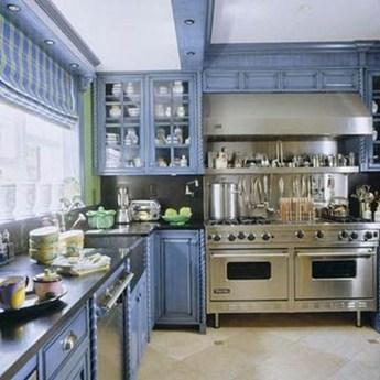 Relaxing Blue Kitchen Design Ideas For Fresh Kitchen Inspiration29
