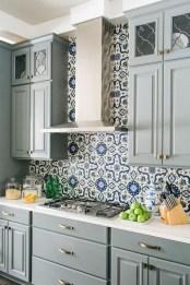 Relaxing Blue Kitchen Design Ideas For Fresh Kitchen Inspiration36