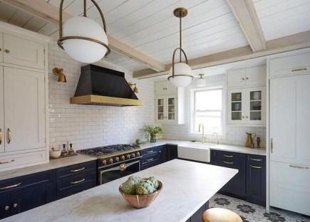 Relaxing Blue Kitchen Design Ideas For Fresh Kitchen Inspiration42