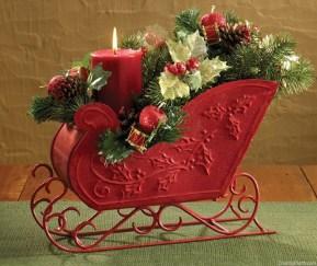 Unique Sleigh Decor Ideas For Christmas17
