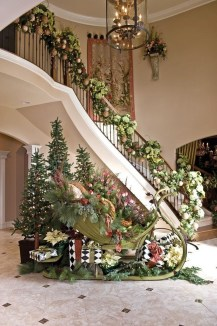 Unique Sleigh Decor Ideas For Christmas24