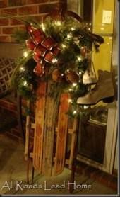 Unique Sleigh Decor Ideas For Christmas26