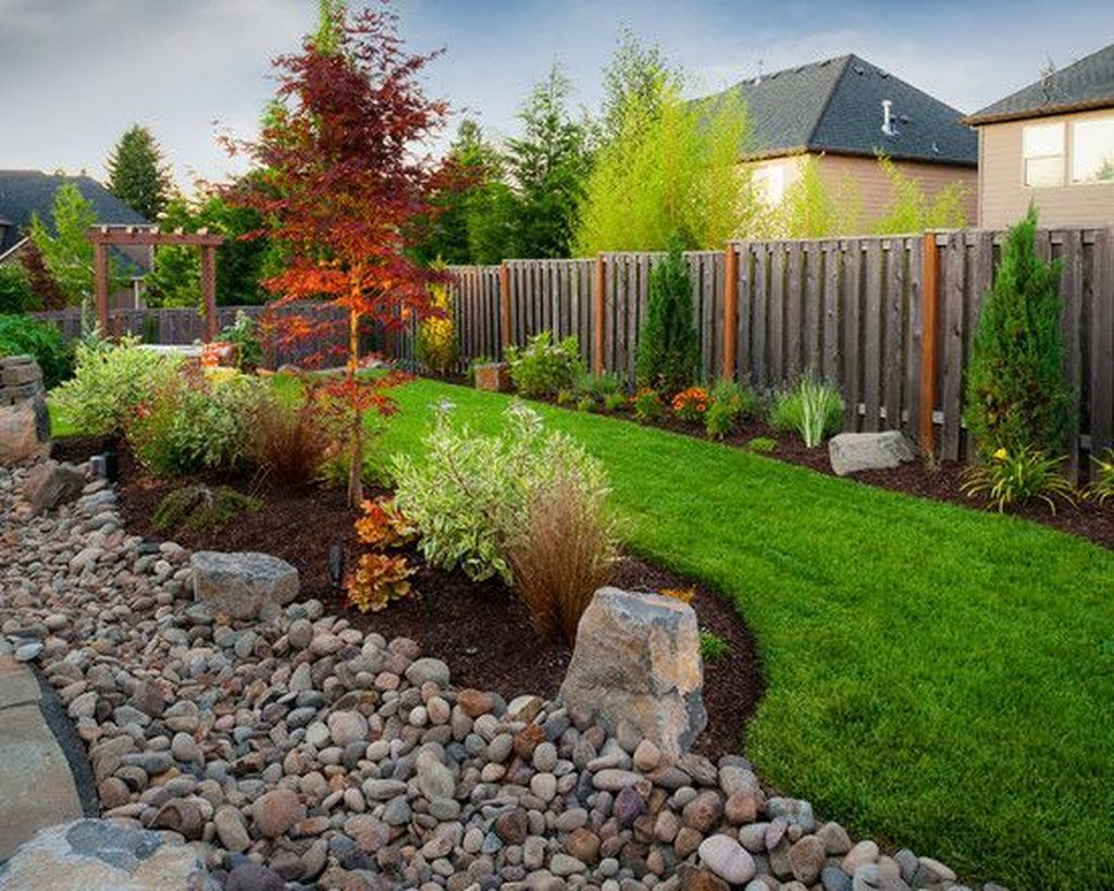 Amazing Grass Landscaping For Home Yard38