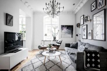 Amazing Scandinavian Livingroom Decorations Ideas08