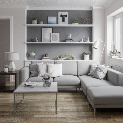 Amazing Scandinavian Livingroom Decorations Ideas30