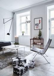Amazing Scandinavian Livingroom Decorations Ideas37