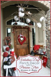 Amazing Valentine Porch Ideas36