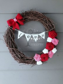 Awesome Front Door Ideas For Valentine09
