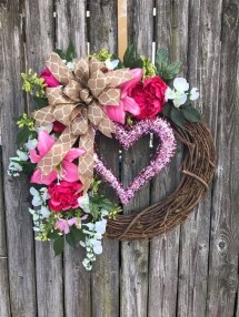 Awesome Front Door Ideas For Valentine12