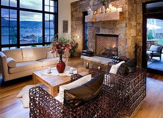 Awesome Winter Living Room Ideas39