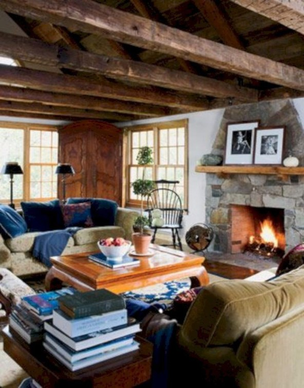 Awesome Winter Living Room Ideas40
