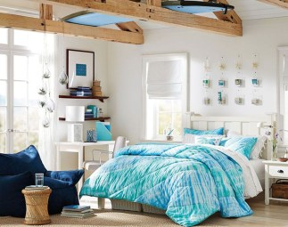 Elegant Blue Themed Bedroom Ideas01