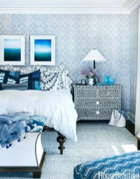 Elegant Blue Themed Bedroom Ideas05