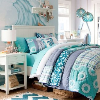 Elegant Blue Themed Bedroom Ideas08