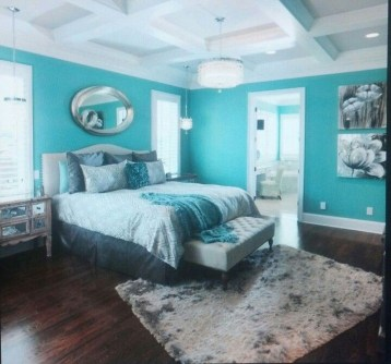 Elegant Blue Themed Bedroom Ideas21
