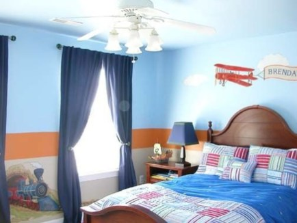 Elegant Blue Themed Bedroom Ideas41