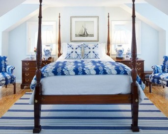 Elegant Blue Themed Bedroom Ideas45