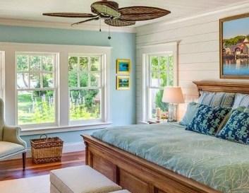 Elegant Blue Themed Bedroom Ideas46