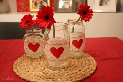 Inspiring Valentine Centerpieces Table Decorations06