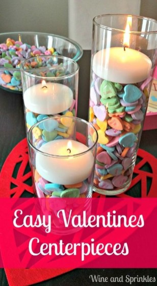 Inspiring Valentine Centerpieces Table Decorations24