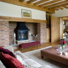 Lovely Fireplace Living Rooms Decorations Ideas12