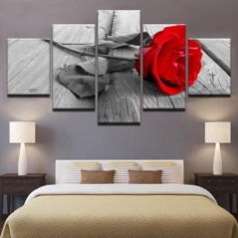 Lovely Roses Decor For Living Room03