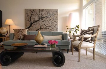 Lovely Roses Decor For Living Room13