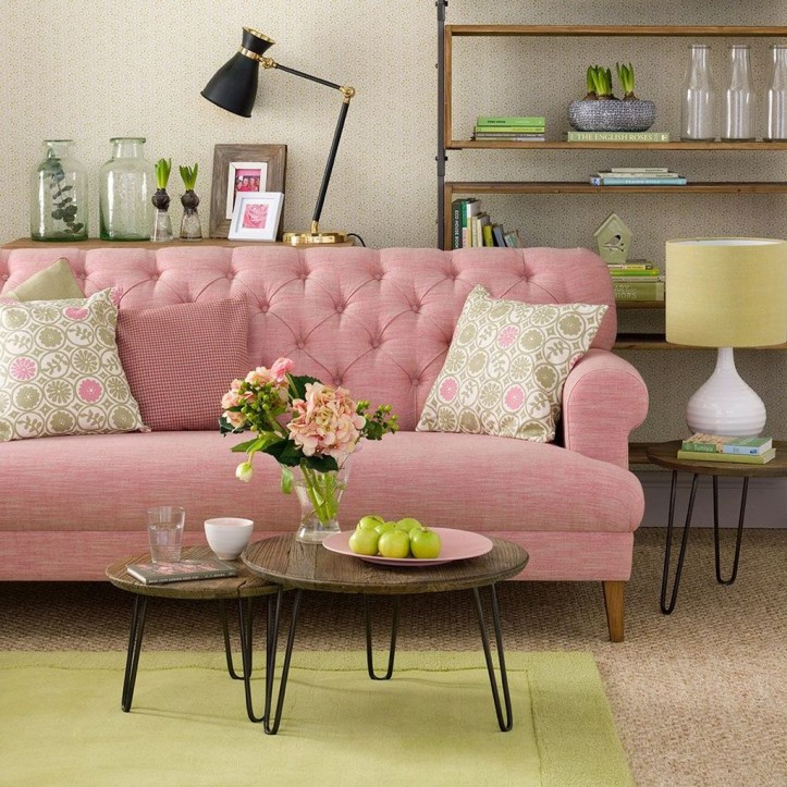 Lovely Roses Decor For Living Room30